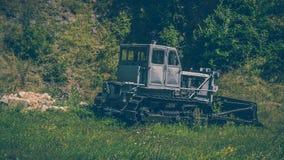 Maschine benutzt in den Bergwerken Stockfoto