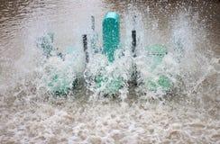 Maschine der Abwasserbehandlung Lizenzfreie Stockfotos