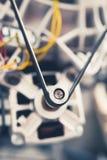 Maschine der Waschmaschine mit Gurtrolle Stockfotos