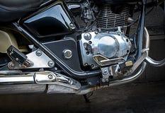 Maschine des Motorrades Stockfoto