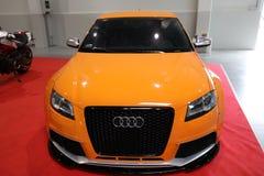 Maschine, die Audi angezeigt an der 3. Ausgabe von MOTO-ZEIGUNG in Krakau abstimmt polen Stockfotos