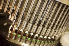 Maschine in einem pharmazeutischen Unternehmen Stockbild