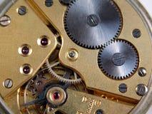 Maschine einer Taschenuhr Lizenzfreies Stockbild