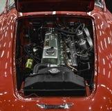 Maschine eines alten Autos Austin Healeys 100F Lizenzfreie Stockfotos