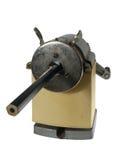 Maschine für das Schärfen der Bleistifte, getrennt Lizenzfreie Stockbilder