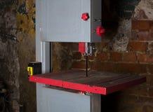 Maschine für geschnittenes metall Industrieller Hintergrund Lizenzfreie Stockbilder