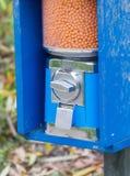 Maschine für Touristen - zahlend, die Tiere einzuziehen lizenzfreies stockbild