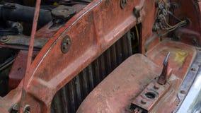 Maschine und zusätzliche Ausrüstung lizenzfreies stockfoto