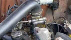 Maschine und zusätzliche Ausrüstung stockbild