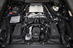 Maschine von Coupé 2017 Mercedess-AMG GT C stockbilder