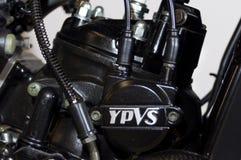 Maschine Yamahas rd125 ypvs Lizenzfreie Stockfotos