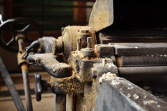 Maschinen in der Schreinerei Lizenzfreie Stockbilder