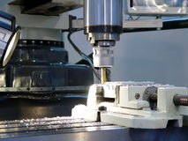 Maschinenarbeit Lizenzfreie Stockfotos