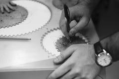 Maschinenbaubildung für Kinder stockfotos