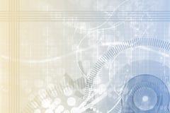 Maschinenbauwesen-Wissenschafts-Auszugs-Hintergrund Lizenzfreies Stockfoto