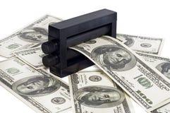 Maschinendruckgeld Lizenzfreies Stockbild