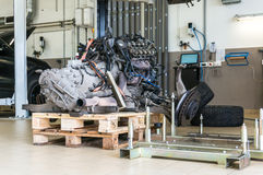 Maschinenersatz Stockfotografie