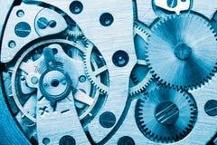 Maschinengangräder, industrieller Hintergrund Stockbilder