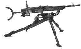 Maschinengewehr auf Stativ Lizenzfreie Stockfotografie