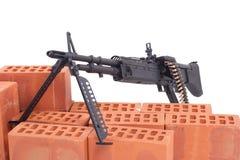 Maschinengewehr M60 lizenzfreie stockbilder