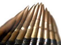 Maschinengewehrmunition Lizenzfreie Stockfotos