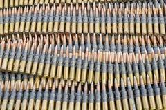 Maschinengewehrmunitionen Lizenzfreies Stockfoto