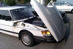 Maschinenhälften-Mütze Saab 900 stockbild