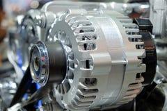 Maschinenteile des LKW-Autos Lizenzfreies Stockfoto