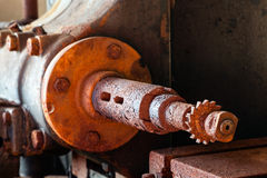 Maschinenwelle Stockfoto