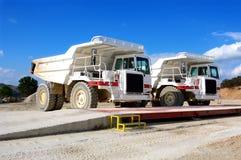 Maschinerie für Bergbau Lizenzfreies Stockbild
