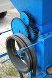 Maschinerie für die Herstellung des Mostes Lizenzfreies Stockfoto