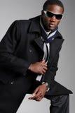Maschio africano alla moda di Amer Fotografie Stock Libere da Diritti