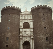 Maschio Angioino - Νάπολη - Ιταλία Στοκ φωτογραφίες με δικαίωμα ελεύθερης χρήσης