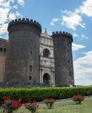 Maschio Angioino castle - Naples - Italy Royalty Free Stock Photo