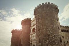 Maschio Angioino - Naples - Italy Stock Images