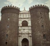 Maschio Angioino - Naples - Italy Royalty Free Stock Photos