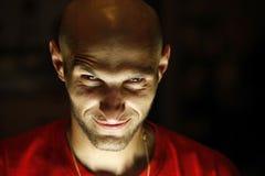 maschio bloded freddo terrificante Fotografie Stock Libere da Diritti