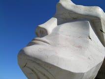 Maschio capo- della statua Fotografie Stock Libere da Diritti