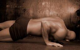 Maschio con piercing del corpo Immagine Stock Libera da Diritti
