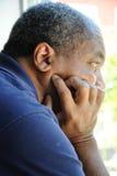 Maschio dell'afroamericano. Immagini Stock
