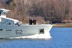 Maschio ed ufficiali femminili della marina canadese Immagine Stock Libera da Diritti