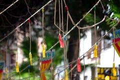 Mascletà Fallas στη Βαλένθια Εορτασμός της Ισπανίας Στοκ εικόνες με δικαίωμα ελεύθερης χρήσης