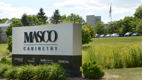 Masco cabinetry headquarters in Ann Arbor, MI Stock Photo