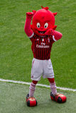 Mascot Ac Milan Stock Photo