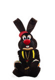 Mascot bunny costume - alone playboy Royalty Free Stock Photos
