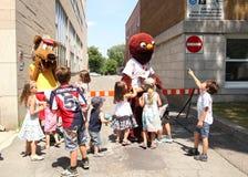 Mascot festival Royalty Free Stock Photography