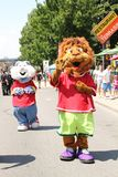 Mascot festival Royalty Free Stock Images