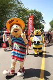Mascot festival Stock Photography