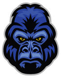 Mascot of gorilla head Royalty Free Stock Photos