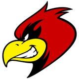 Mascot Grin cardinal Photographie stock